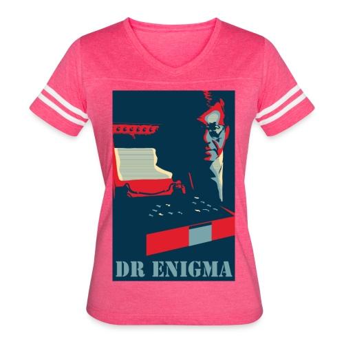 Dr Enigma+Enigma Machine - Women's Vintage Sport T-Shirt