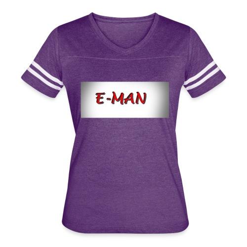 E-MAN - Women's Vintage Sport T-Shirt