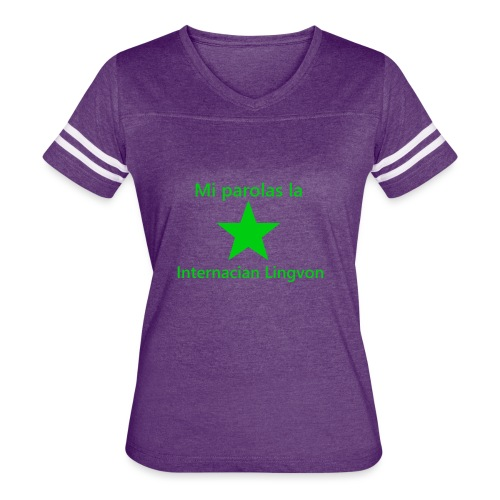 I speak the international language - Women's Vintage Sport T-Shirt