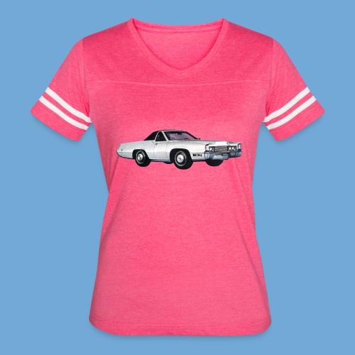 1969 Cadillac Eldorado Supercoupe - Women's Vintage Sport T-Shirt