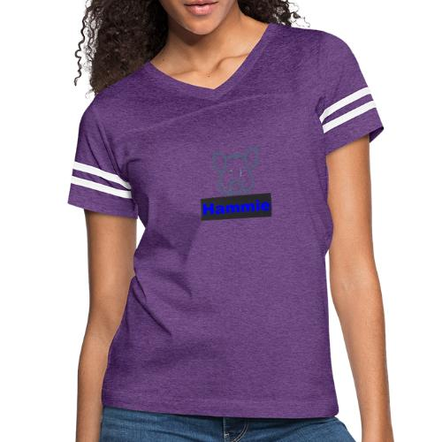 Hammie Logo with Brand Name - Women's Vintage Sport T-Shirt