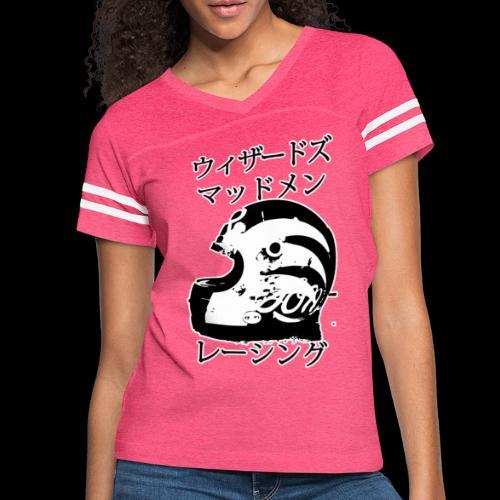 Wizadzu Maddo Men Reshingu - Women's Vintage Sport T-Shirt