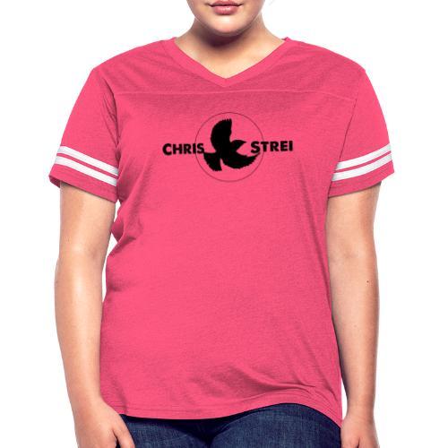 Chris Strei BlackBird Logo - Women's Vintage Sport T-Shirt