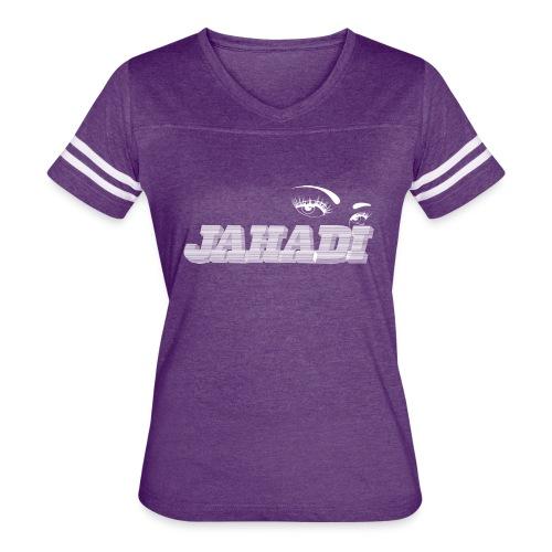 hadilogoWHITE - Women's Vintage Sport T-Shirt