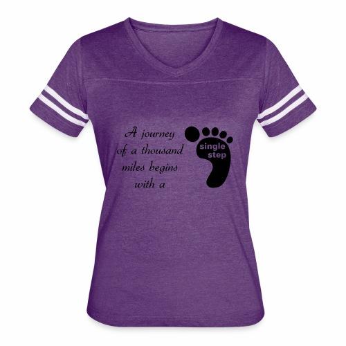 Single Step - Women's Vintage Sport T-Shirt
