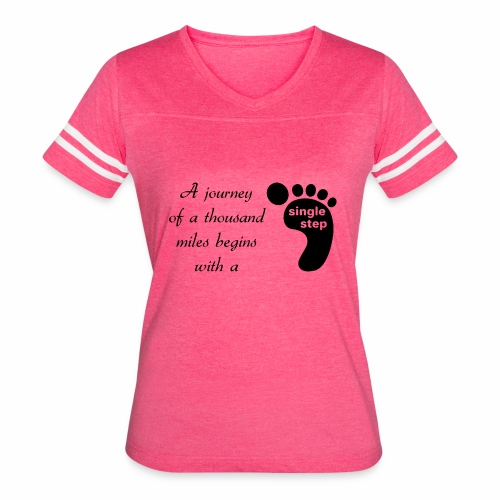 Single Step - Women's Vintage Sport T-Shirt