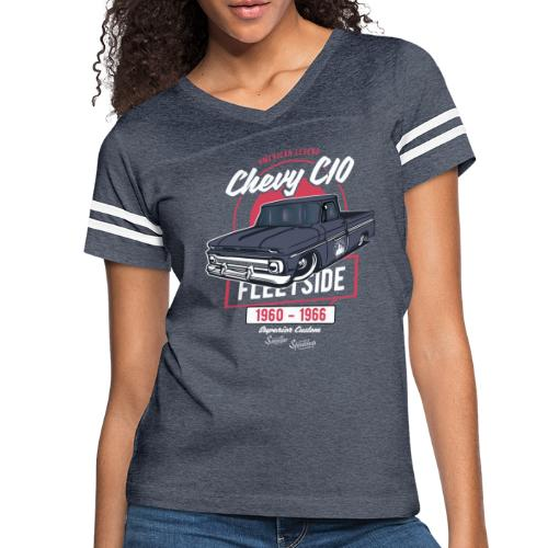 Chevy C10 - American Legend - Women's Vintage Sports T-Shirt