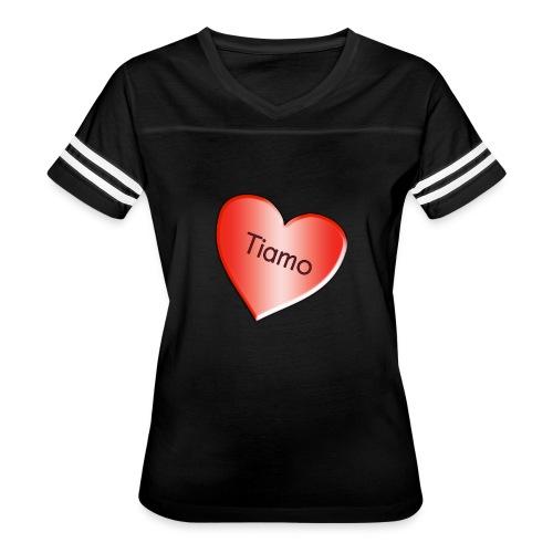 Tiamo I love you - Women's Vintage Sport T-Shirt