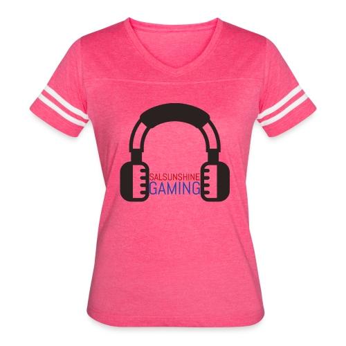 SALSUNSHINE GAMING LOGO - Women's Vintage Sport T-Shirt