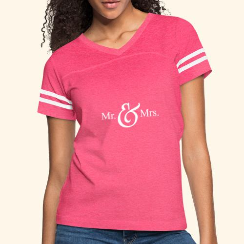 MR.& MRS . TEE SHIRT - Women's Vintage Sport T-Shirt