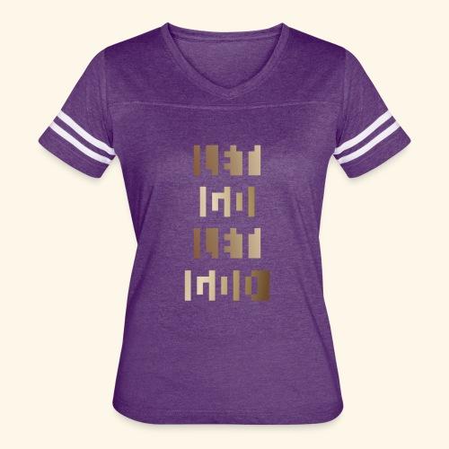 LET GO LET GOD LGLG #3 - Women's Vintage Sport T-Shirt