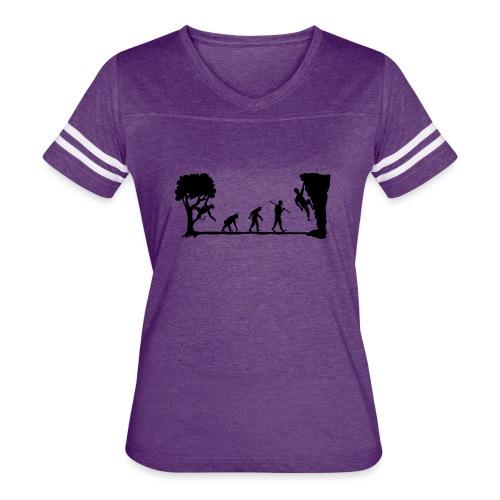 Apes Climb - Women's Vintage Sport T-Shirt