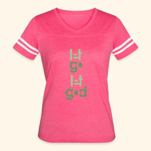 LGLG #9 - Women's Vintage Sport T-Shirt