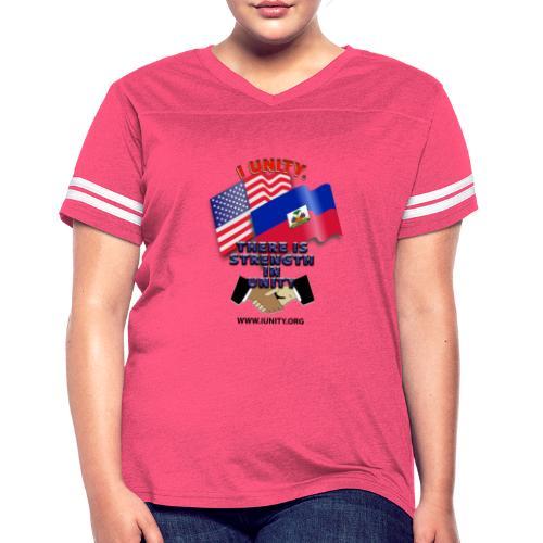 The Flag of Haiti E03 - Women's Vintage Sport T-Shirt
