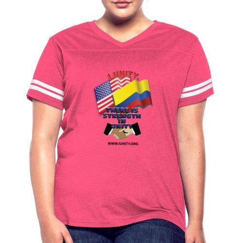 COLUMBIAN USA E02 - Women's Vintage Sport T-Shirt