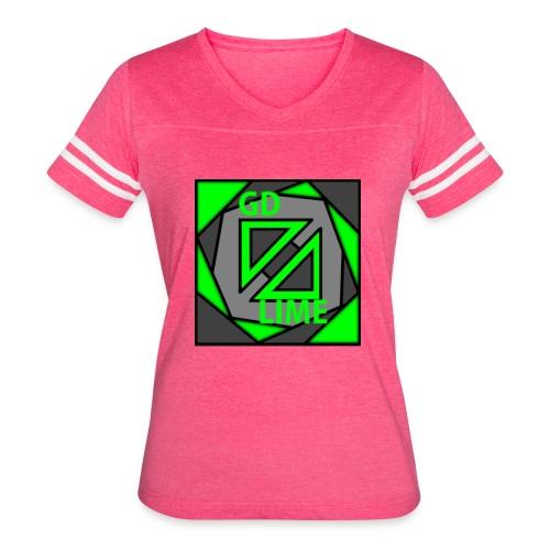 GDLime - Women's Vintage Sport T-Shirt