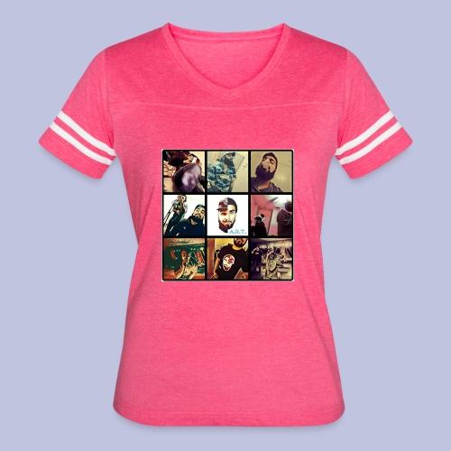 Throwback ART Mixtape Cover - Women's Vintage Sport T-Shirt
