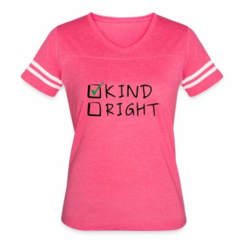 Choose Kind Anti-Bullying - Women's Vintage Sport T-Shirt