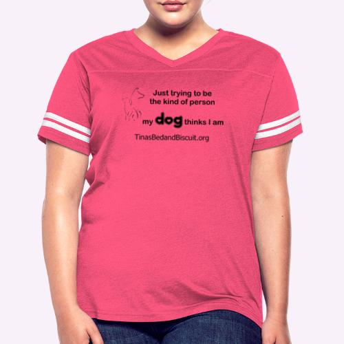kind - Women's Vintage Sport T-Shirt