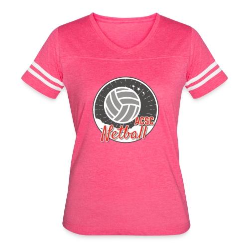 ACSC Netball Team - Women's Vintage Sport T-Shirt