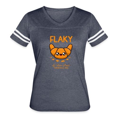 Flaky Croissant - Women's Vintage Sport T-Shirt