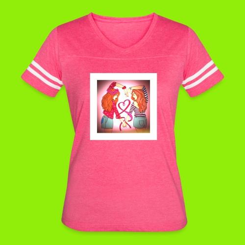 F091B61A 00E1 49C3 BEFA 4A3B1D9AE835 - Women's Vintage Sport T-Shirt