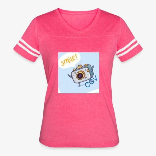 the smile - Women's Vintage Sport T-Shirt
