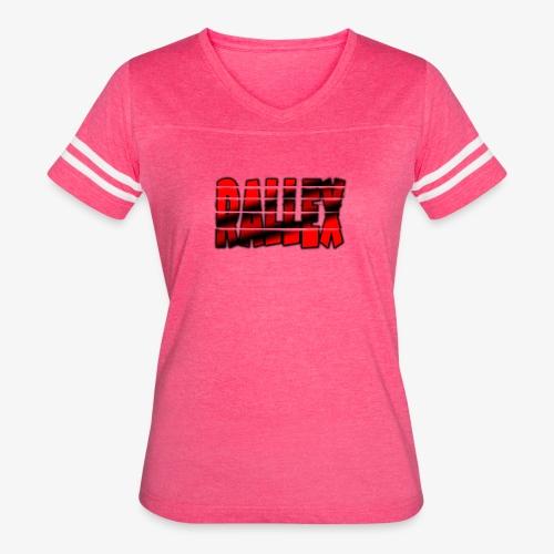 Split Rallex Logo - Women's Vintage Sport T-Shirt