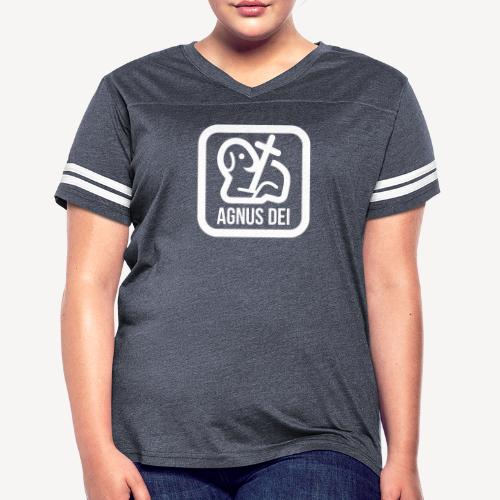 AGNUS DEI - Women's Vintage Sport T-Shirt
