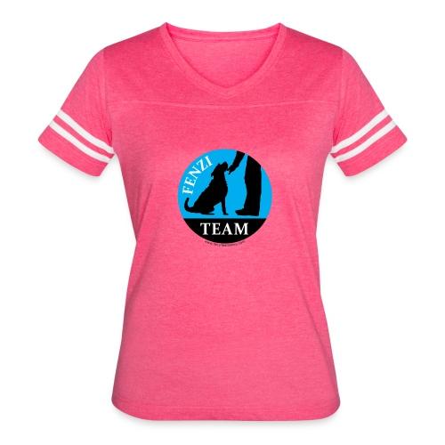 FENZITEAM Logo W - NOT FOR BLACK - Women's Vintage Sport T-Shirt