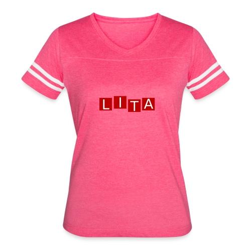 LITA Logo - Women's Vintage Sport T-Shirt