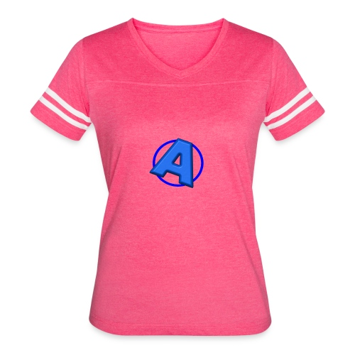 Awesomegamer Logo - Women's Vintage Sport T-Shirt