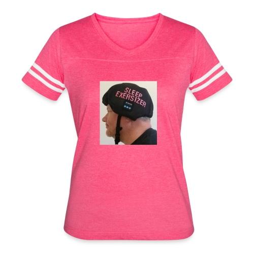 Sleep Exersizer Helmet Model - Women's Vintage Sport T-Shirt