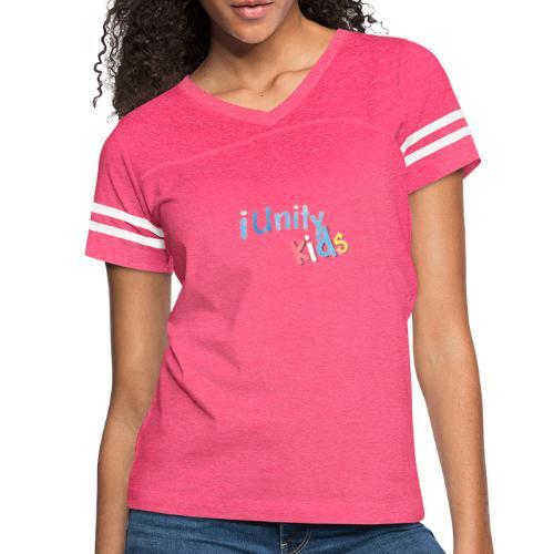 iunity kids design - Women's Vintage Sport T-Shirt