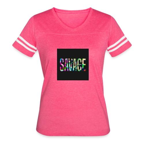 Savage Wear - Women's Vintage Sport T-Shirt