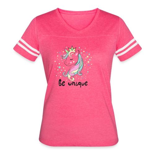 Unique Unicorn - Women's Vintage Sport T-Shirt