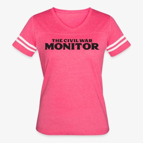 CWM LOGO BLACK - Women's Vintage Sport T-Shirt