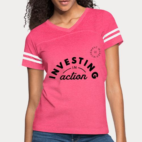 Investing in Action - Women's Vintage Sport T-Shirt