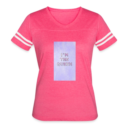 Kids sassy T-shirt - Women's Vintage Sport T-Shirt