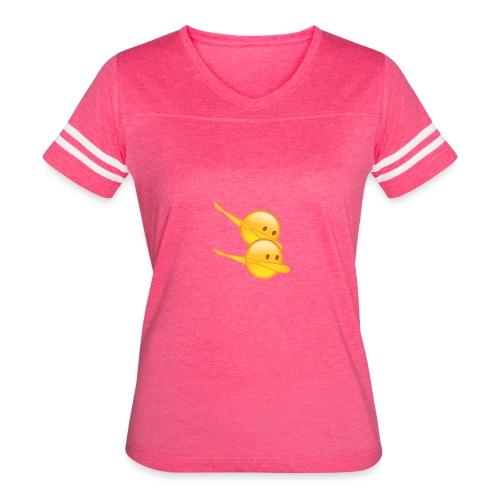 Dab Face Meme - Women's Vintage Sport T-Shirt