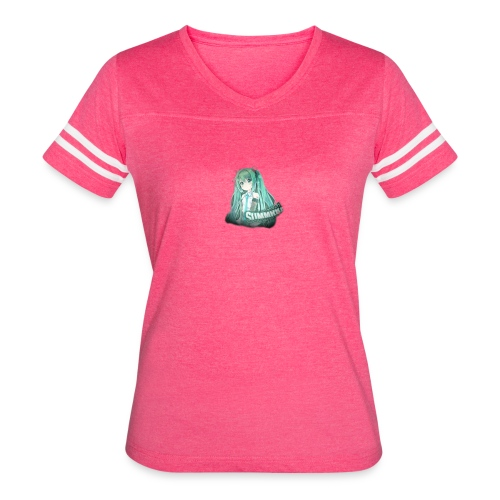 Summrrz Logo Transparent - Women's Vintage Sport T-Shirt