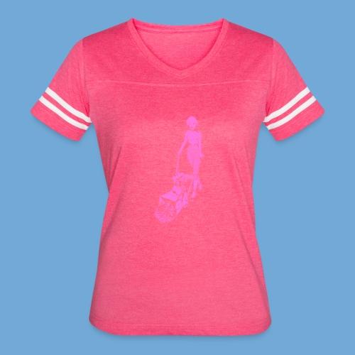 Roto-Hoe pink. - Women's Vintage Sport T-Shirt