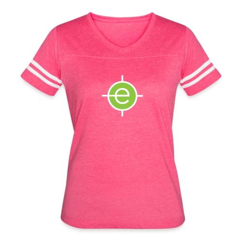 OET American Apparel black T-shirt - Women's Vintage Sports T-Shirt