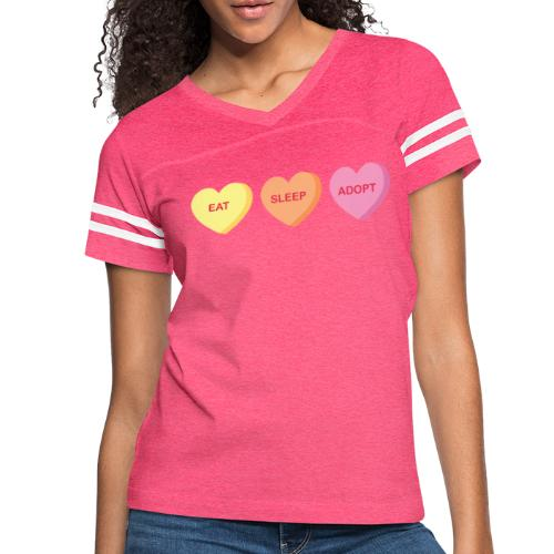 Eat Sleep Adopt - Women's Vintage Sport T-Shirt