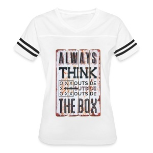 Always think outside the box - Women's Vintage Sport T-Shirt