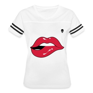 she is danger red - Women's Vintage Sport T-Shirt