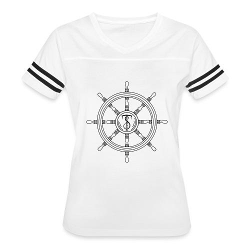 Black Midnight Logo - Women's Vintage Sport T-Shirt