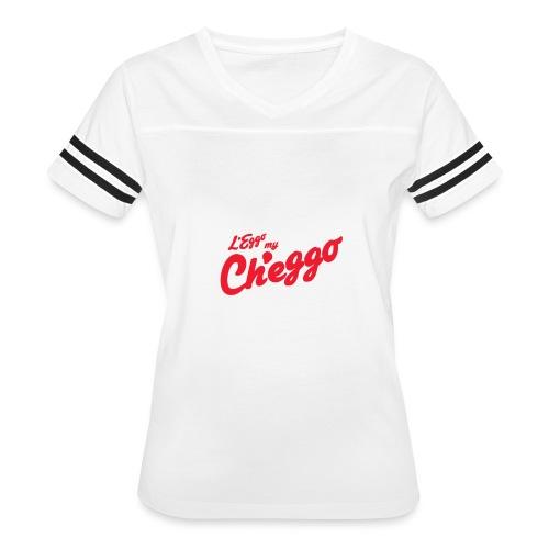 L'Eggo my Ch'eggo TShirt *LIMITED TIME ONLY* - Women's Vintage Sport T-Shirt
