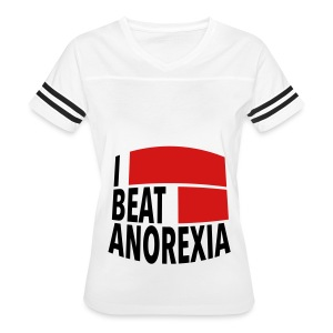 I Beat Anorexia - Women's Vintage Sport T-Shirt