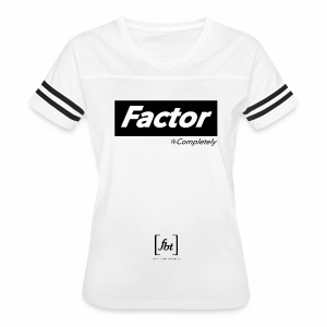 Factor Completely [fbt] - Women's Vintage Sport T-Shirt